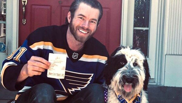 'I bet with my heart': How a St. Louis Blues fan could win $100K