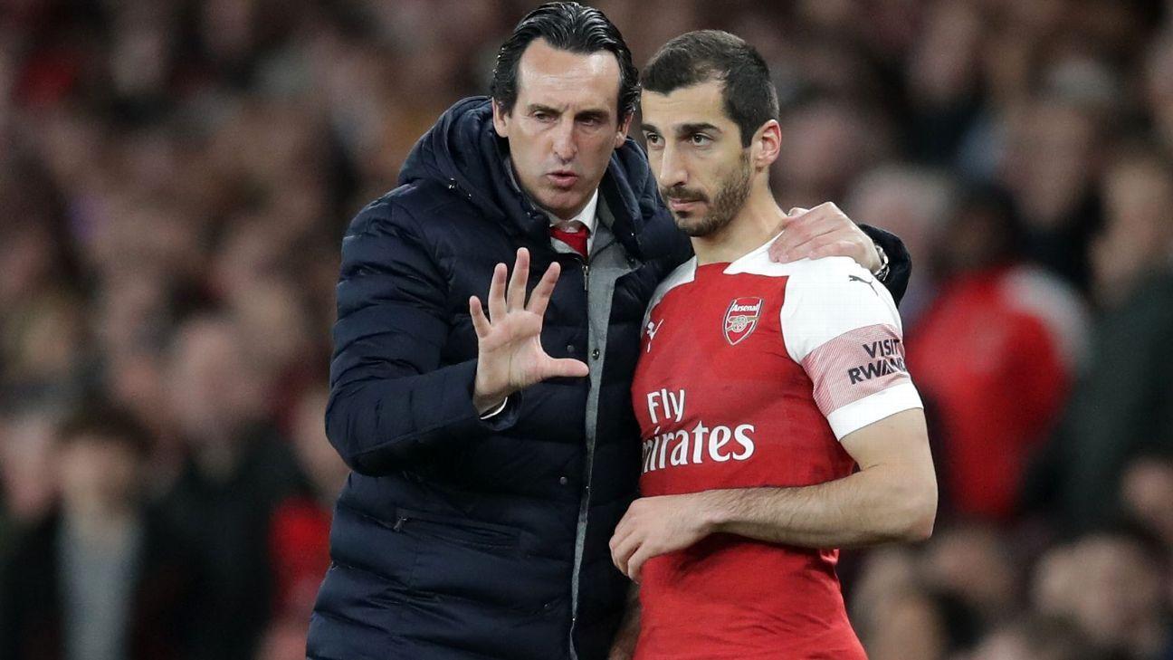 """Emery, sobre Mkhitaryan: """"Malas noticias, pero es una decisión personal"""""""