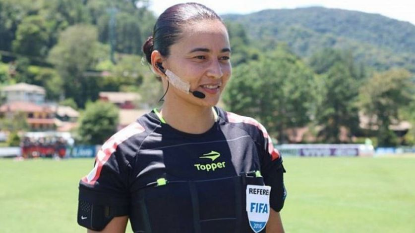 Após 14 anos sem mulheres na arbitragem, Edina Alves fará partida do Brasileirão
