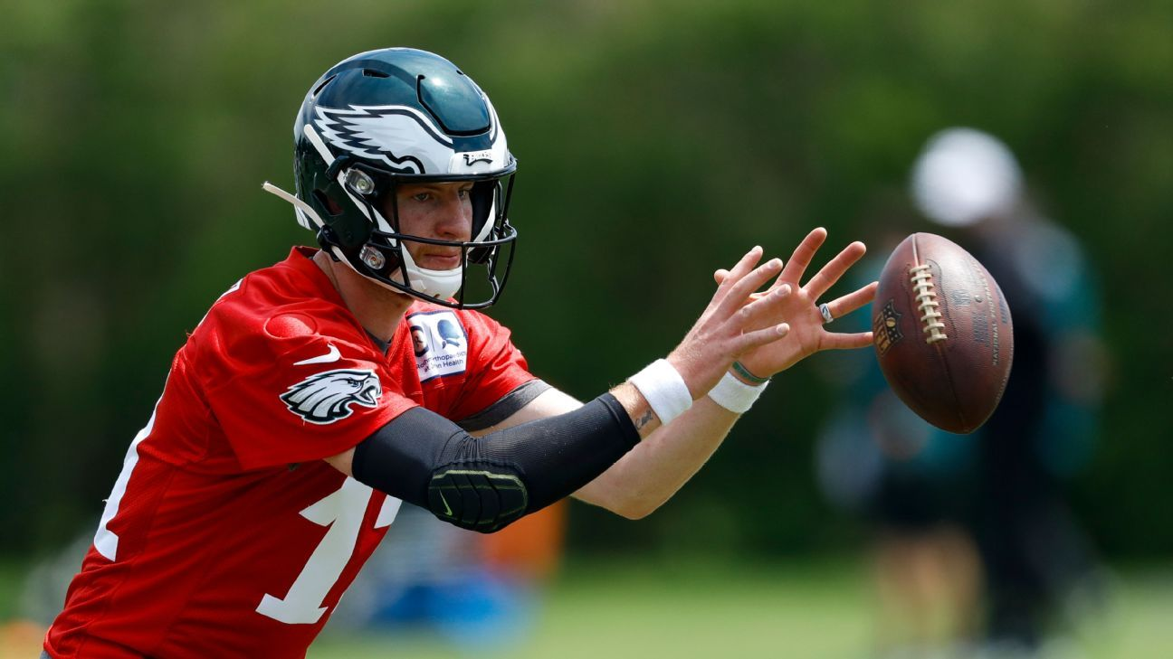 Carson Wentz sin limitaciones en prácticas de Philadelphia