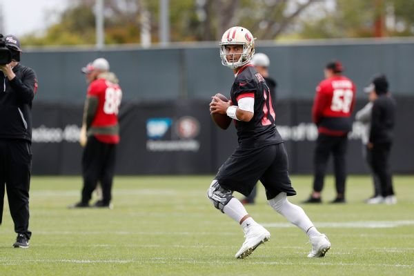 49ers' Garoppolo progressing; Sherman pain-free