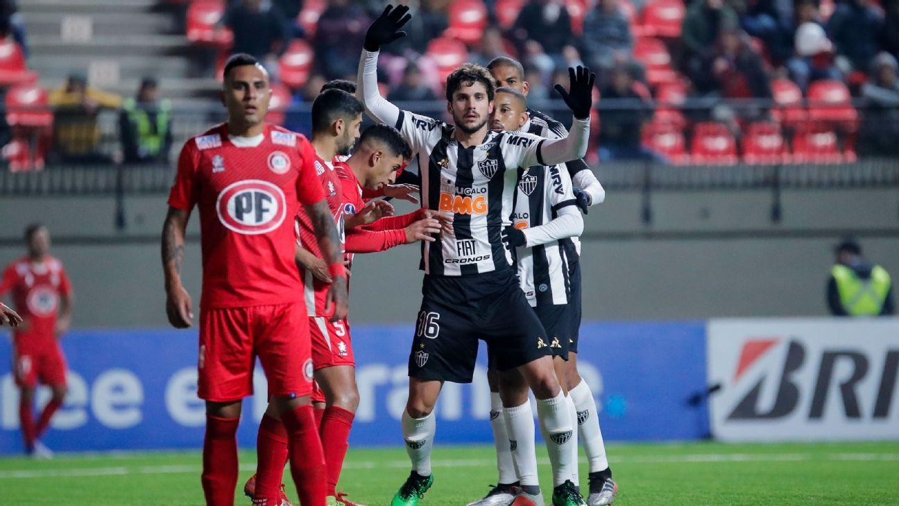 Com time alternativo, Atlético-MG estreia na Sul-Americana com derrota para o Unión La Calera