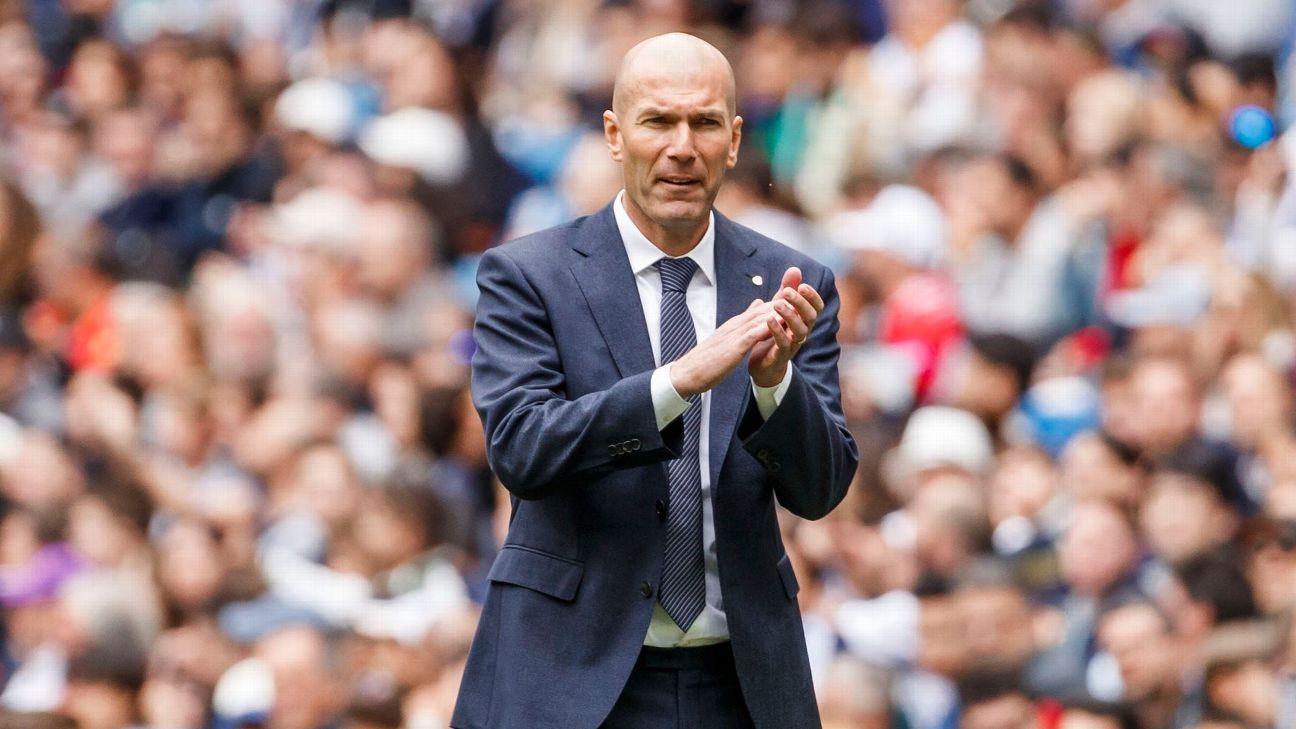 Zidane returning to Madrid 'heroic' - Valdano