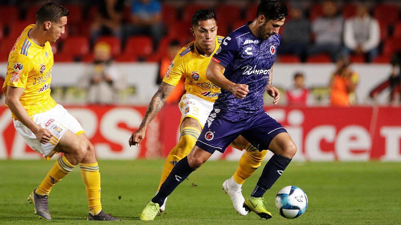 Dueñas y Salcedo, bajas de Tigres para la final de ida