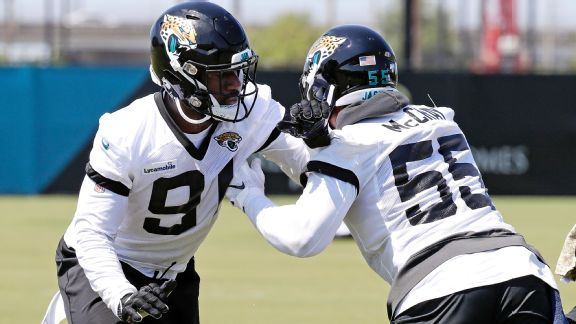 Jaguars' Yannick Ngakoue won't hold out, but he knows his value