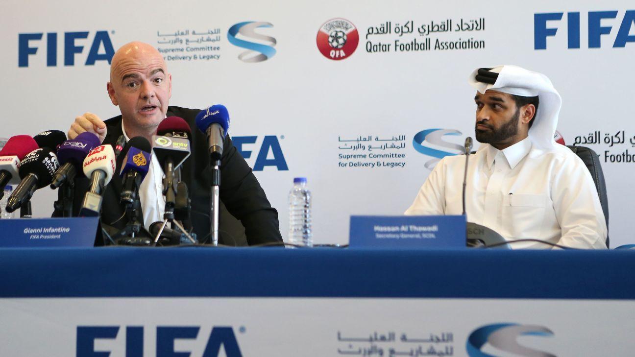 FIFA declina organizar Mundial 2022 con 48 equipos