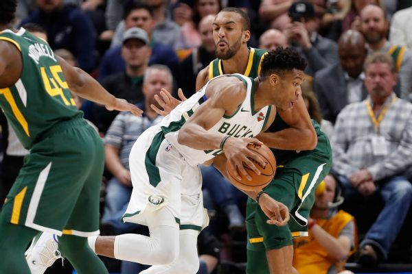 Gobert, Giannis headline All-Defensive teams
