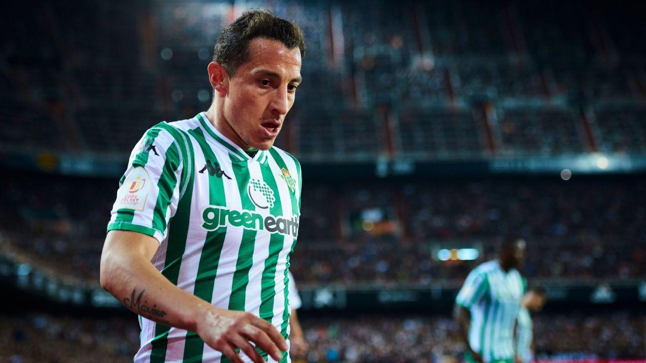 Andrés Guardado no descarta jugar en la MLS