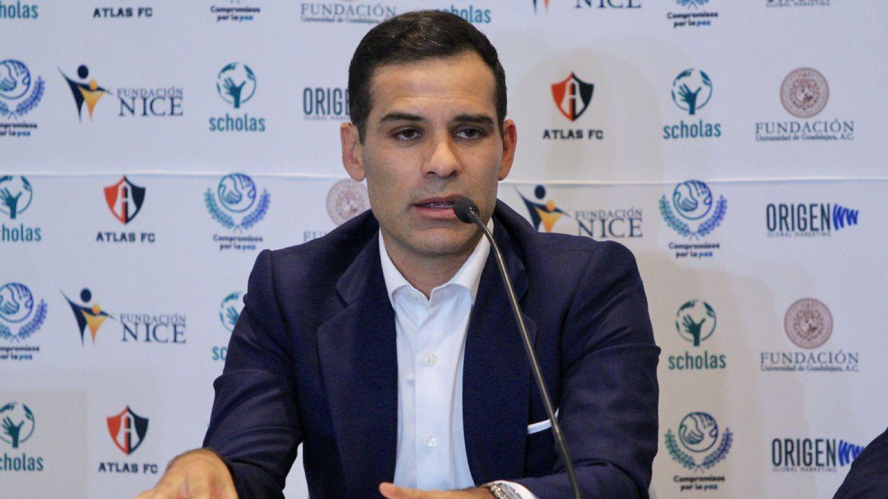 Atlas le agradece a Rafa Márquez con carta