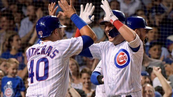 Built on huge homers, Cubs' big innings a formula for success