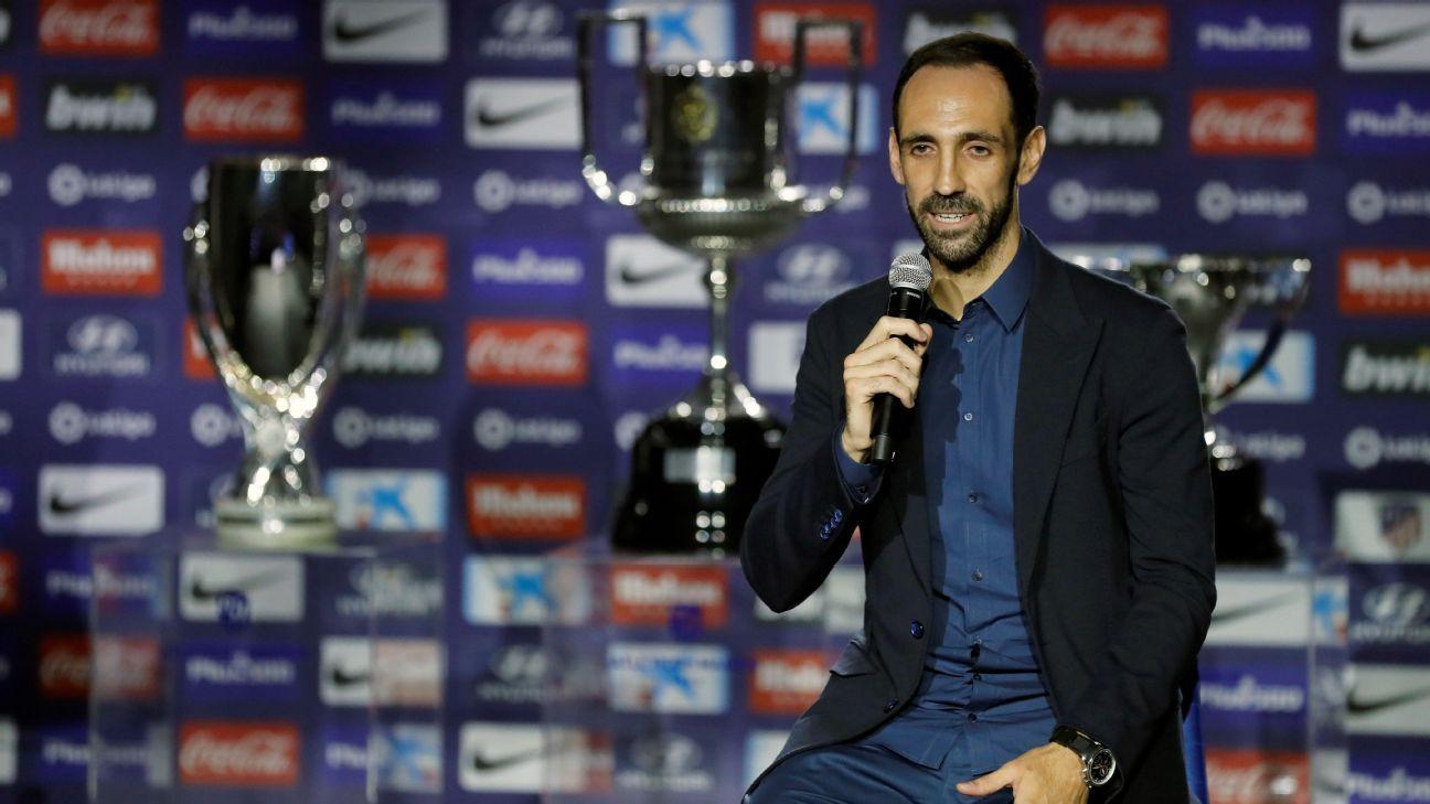 Juanfran: Volveré para ayudar al Atlético de Madrid