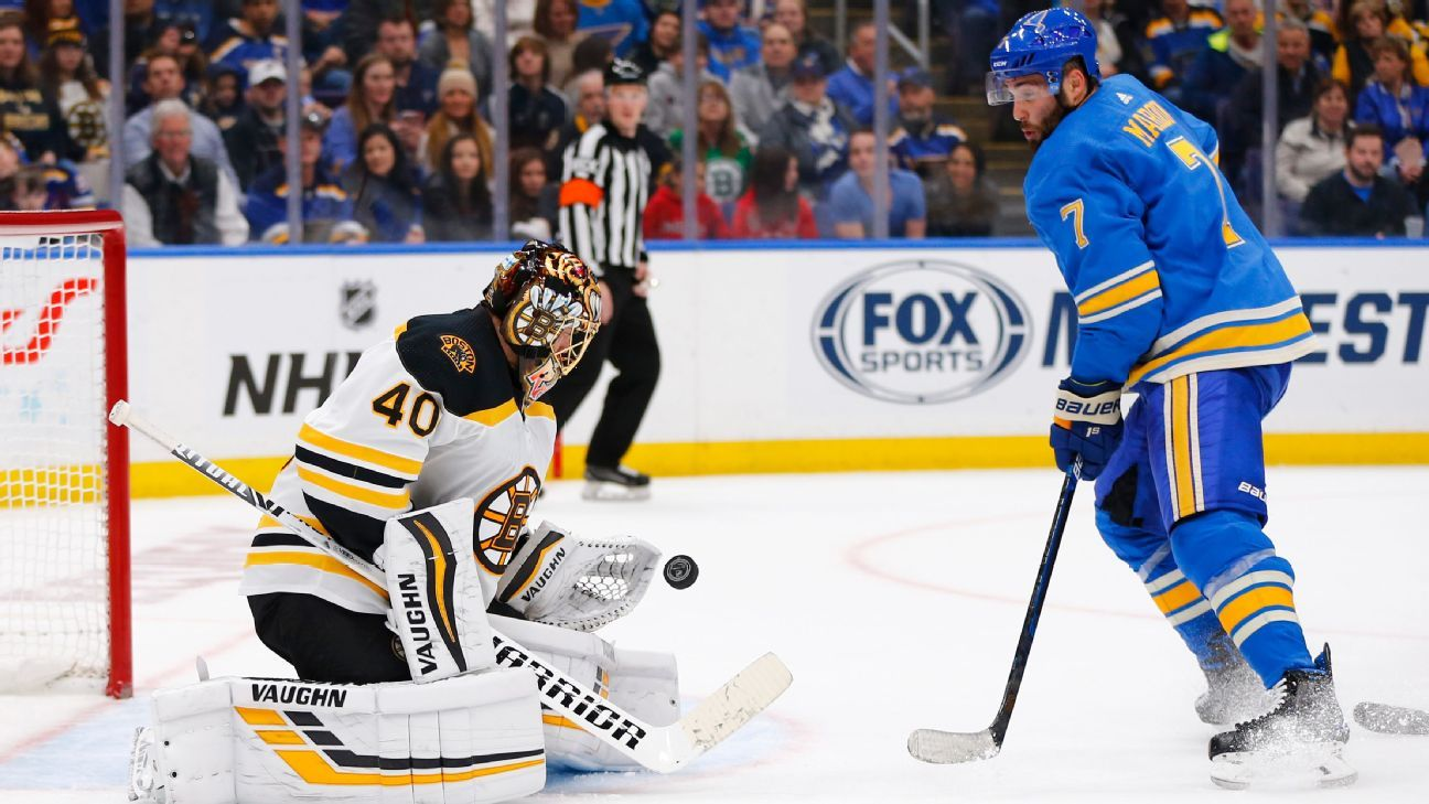 The Wysh List: Rating Bruins, Blues players by Stanley Cup worthiness