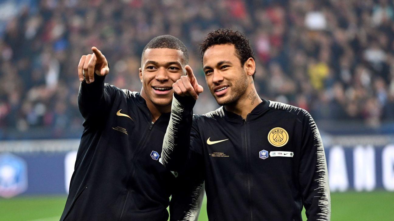 Neymar e Mbappé podem sair do PSG e Tuchel já pensa em soluções