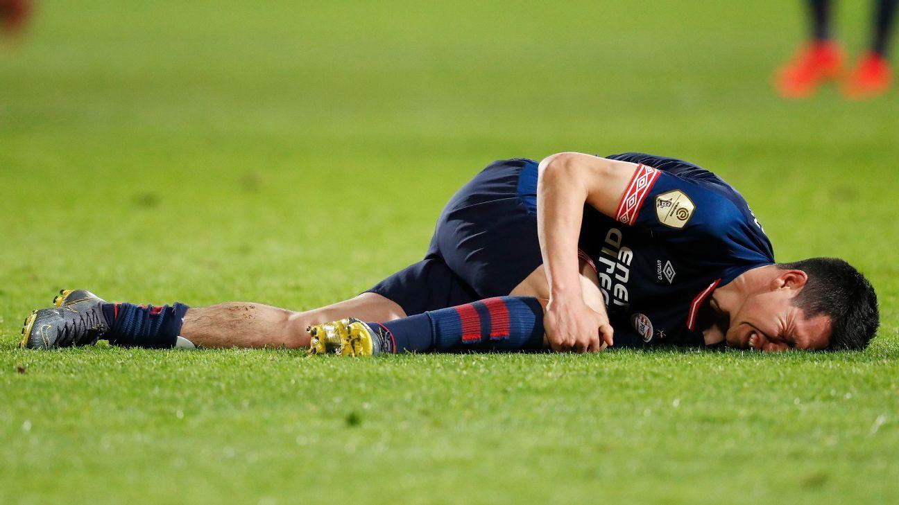 Hirving Lozano fuera de Copa Oro, vuelve con PSV