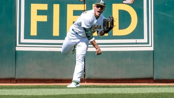 The legend of Laureano's laser: How the A's outfielder went viral