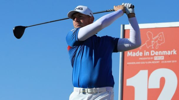 Defending champ Wallace 1 shot back in Denmark