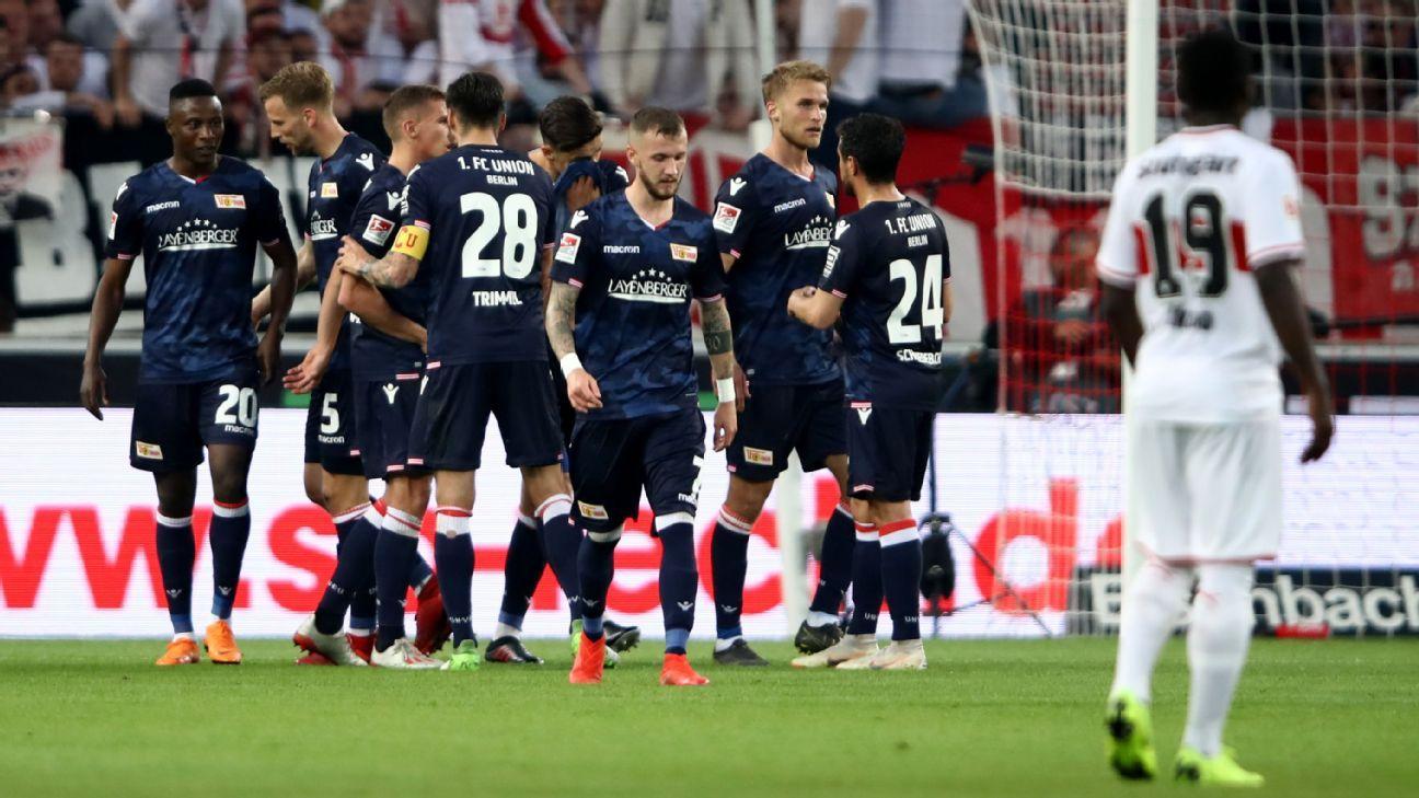 Union Berlin, Stuttgart draw in pro-rel playoff