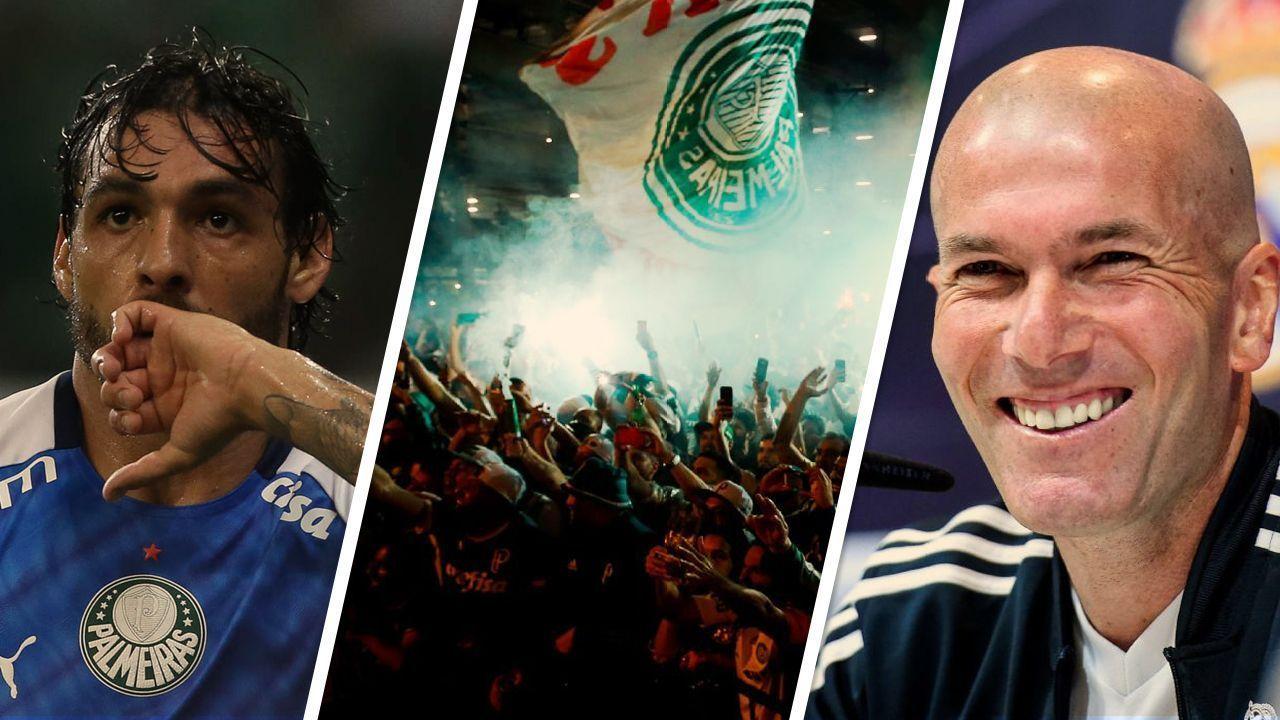 BOMBOU! Rescisão de Ricardo Goulart, acordo entre Palmeiras e Globo e conversas de Zidane