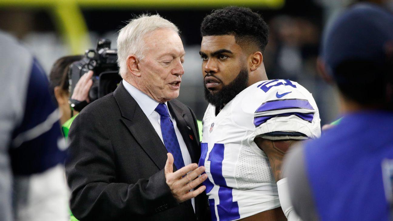 Los Dallas Cowboys no esperan sanción para Ezekiel Elliott