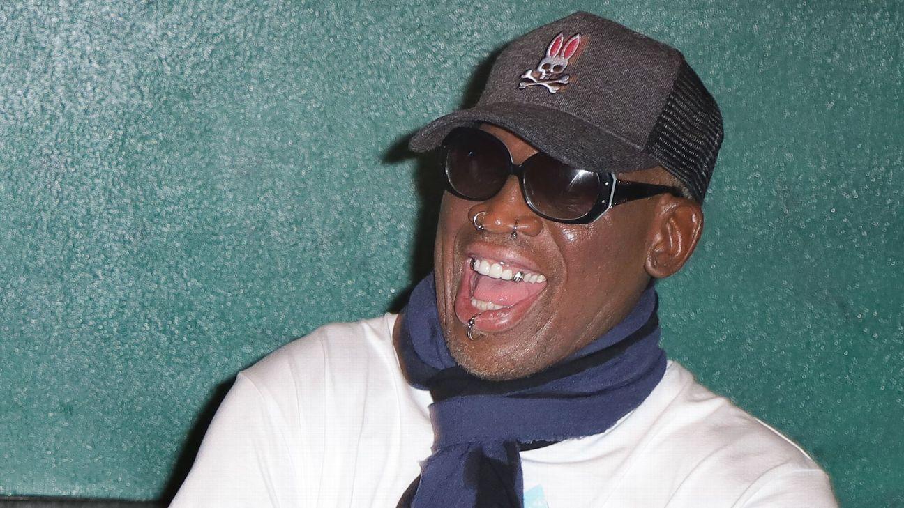 Rodman, acusado de golpear a un hombre