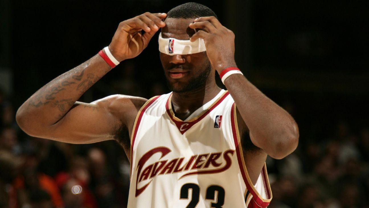 LeBron é deixado de fora da seleção ideal da NBA após 12 anos; relembre como ficou o time em 2006/07