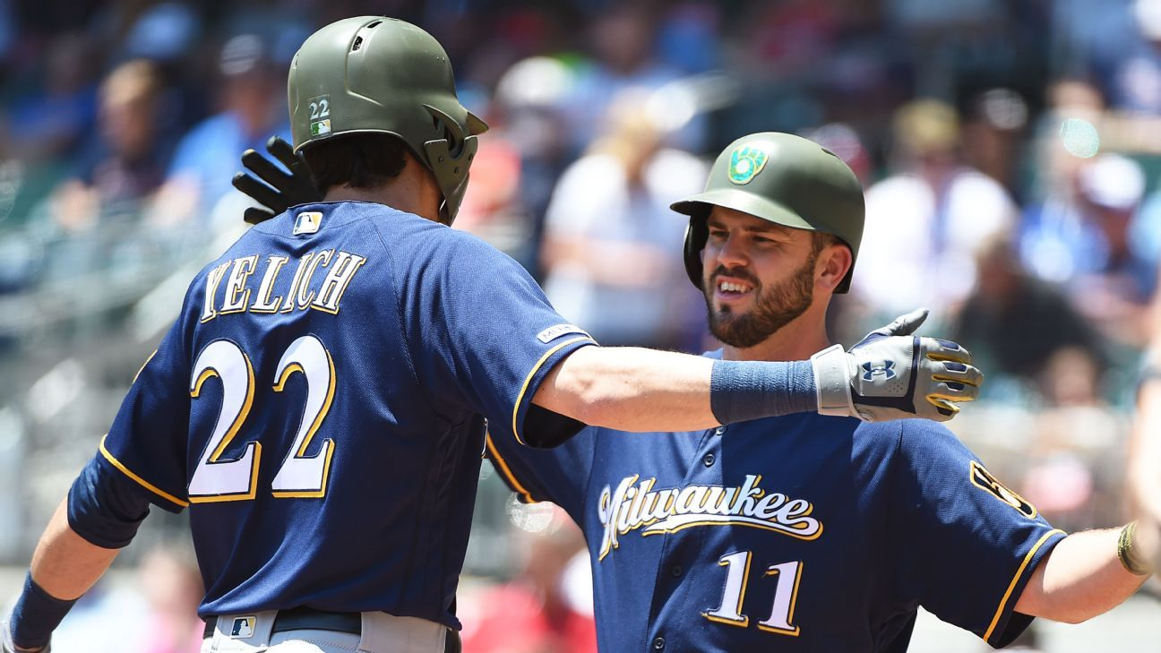 Christian Yelich regresa para serie vs Phillies