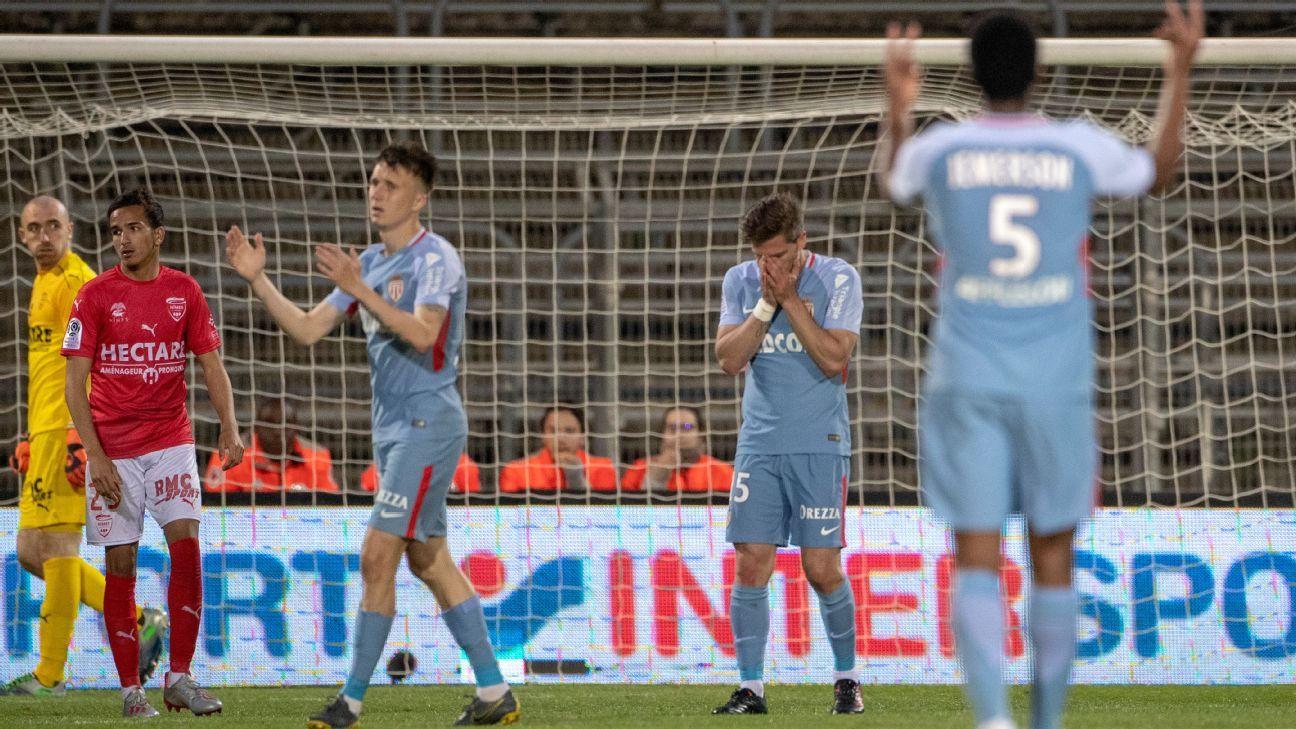 Monaco salvage Ligue 1 status as Caen go down