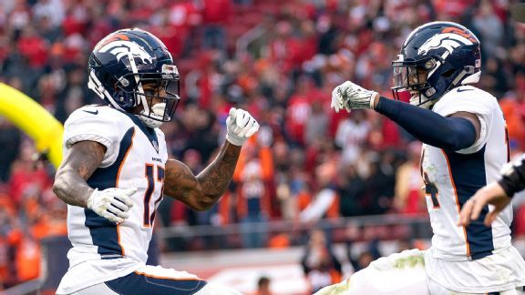 Broncos need Courtland Sutton, DaeSean Hamilton to flourish quickly