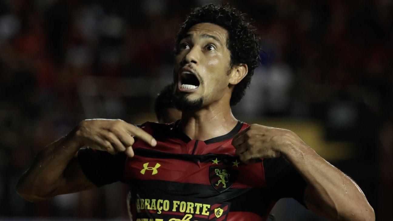 Com hat-trick de Hernane, Sport bate Londrina e sobe para quarto lugar da Série B