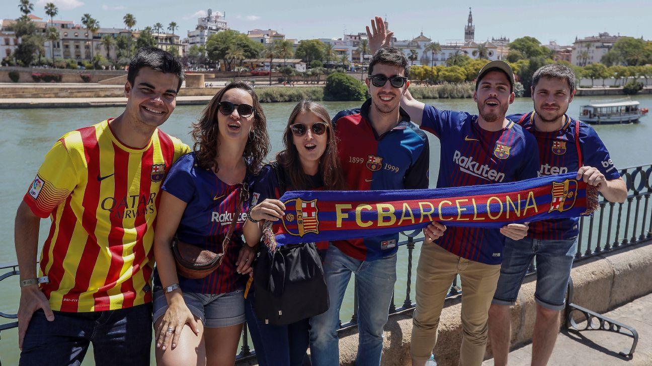 Copa del Rey: Detenidos y heridos por desmanes en Sevilla