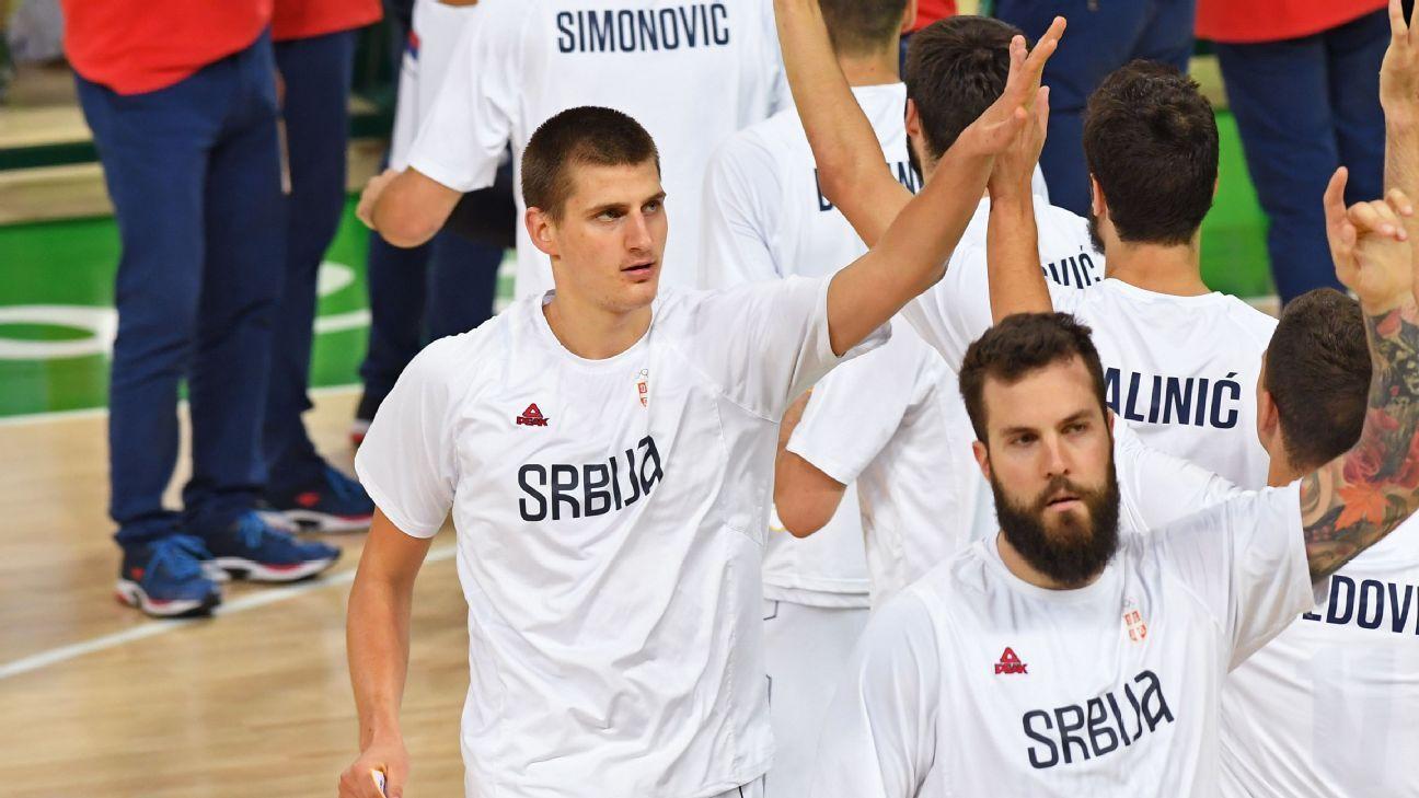 Jokic jugará con Serbia Mundial FIBA 2019