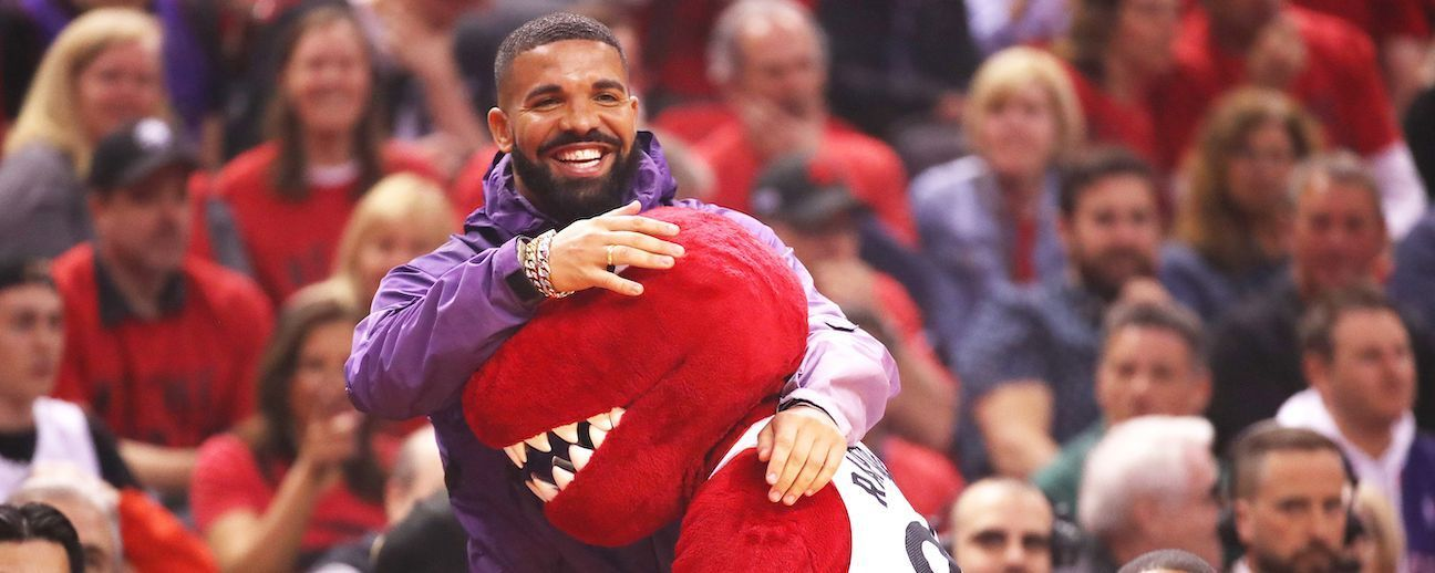 Drake es el antagonista de playoffs más famoso de la NBA
