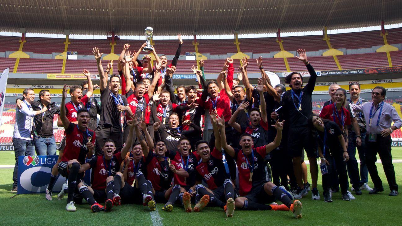 Atlas se corona campeón en categoría Sub-20