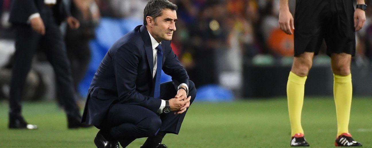 Valverde no tiene segura su continuidad en el Barça