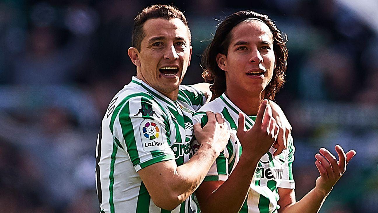 Real Betis busca amistosos en México para pretemporada