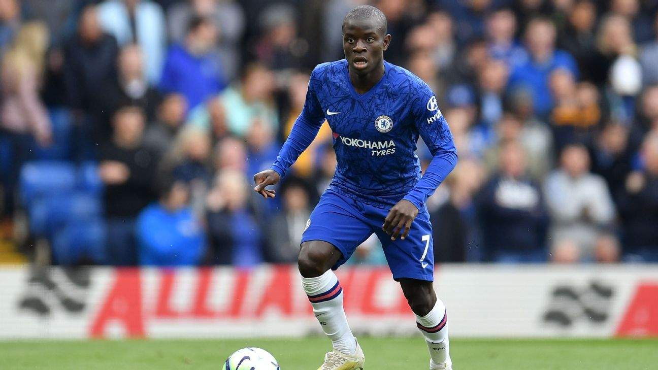 Chelsea's Kante set to miss Europa League final