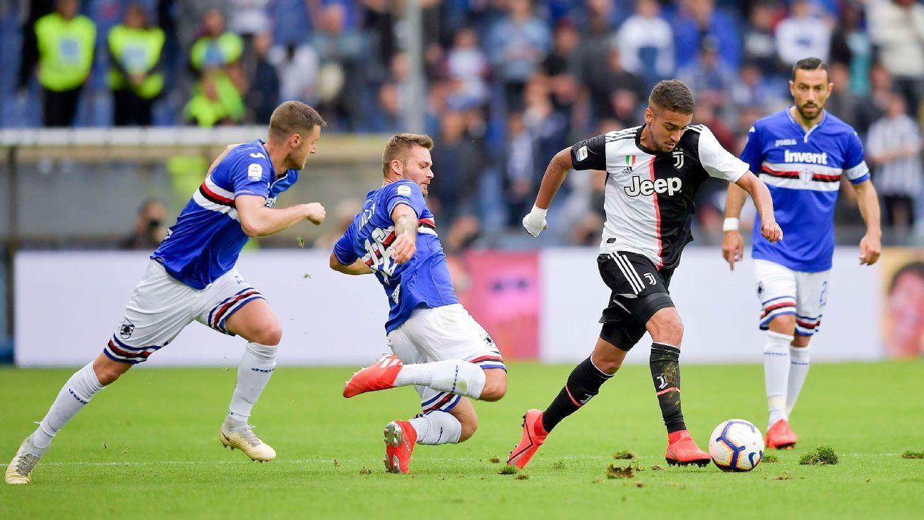 Com ex-Corinthians titular, Juventus perde para Sampdoria na despedida do Italiano