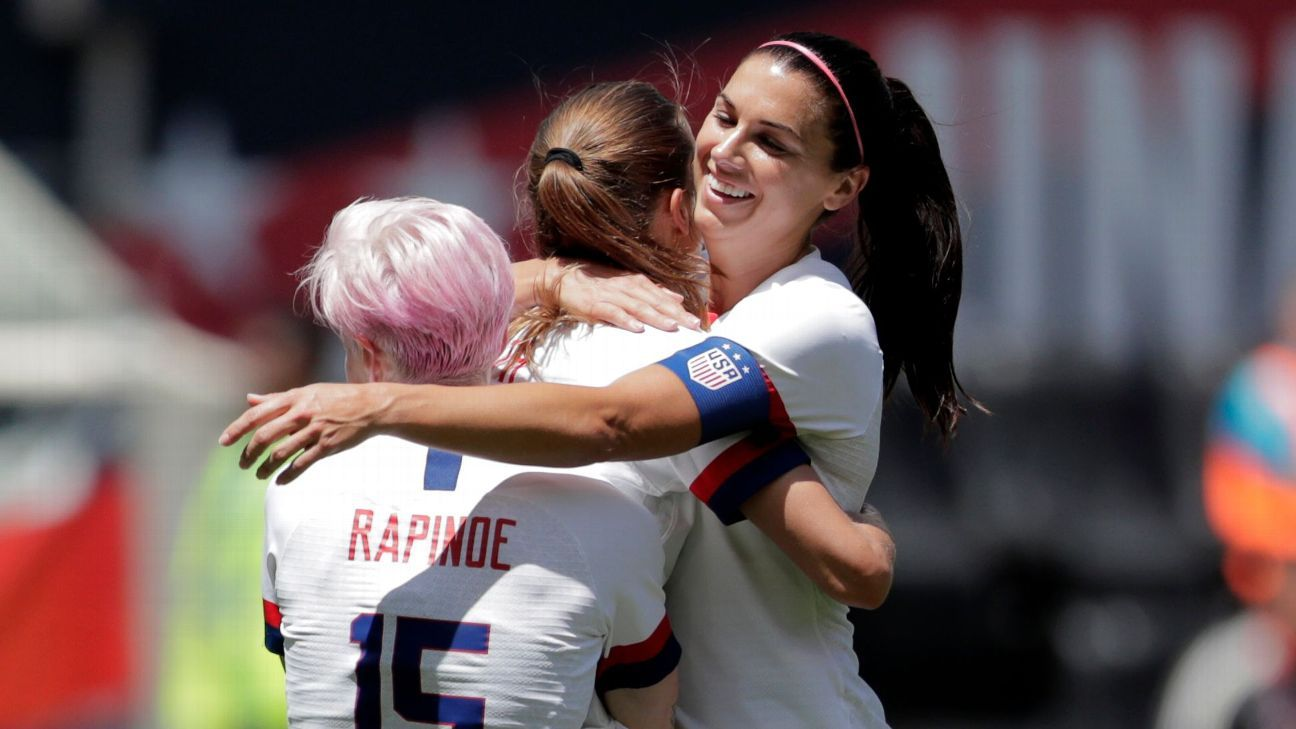 U.S. women ready for World Cup after 3-0 win in final tuneup