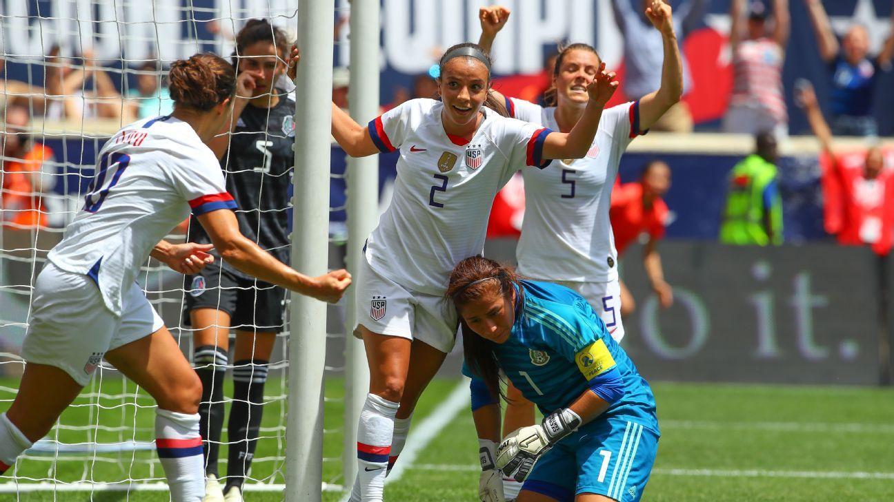 El Tri femenil cae goleado en amistoso contra Estados Unidos