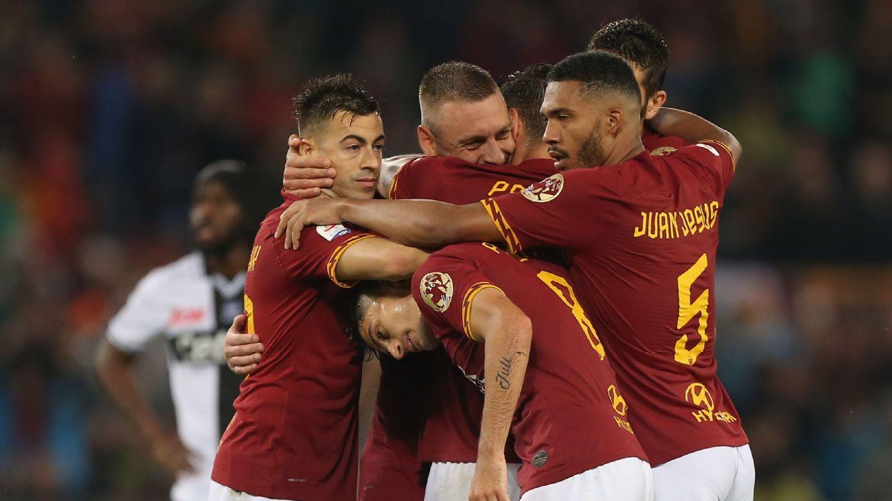 De Rossi bids farewell as Roma defeat Parma