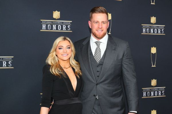 Texans' Watt engaged to soccer player Ohai