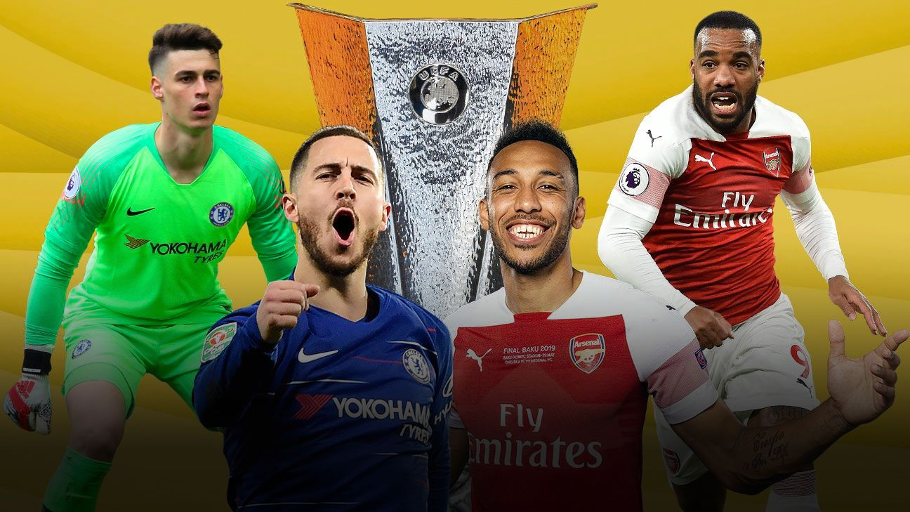 1b80195f3 Chelsea vs. Arsenal  Europa League final guide