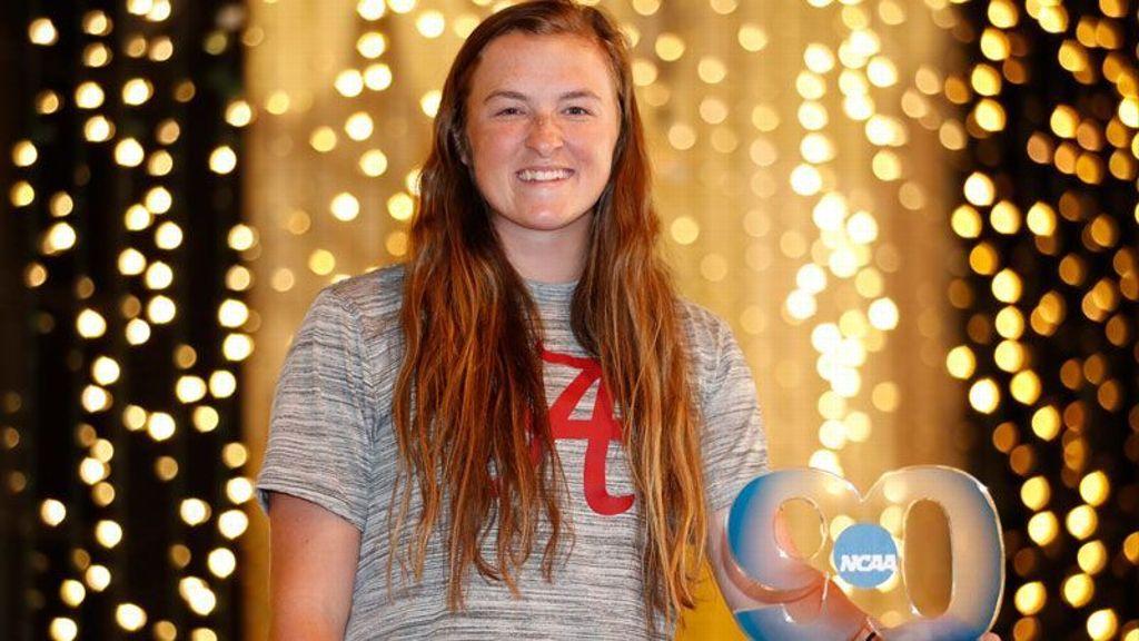 Kaylee Tow wins NCAA Elite 90 Award