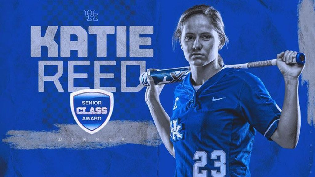 Reed wins 2019 Senior CLASS Award for softball