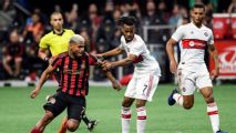 Martinez's two goals carry Atlanta past Chicago