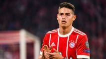 James Rodríguez no seguirá en Bayern Munich