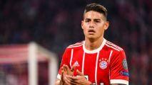 James Rodríguez no seguirá en Bayern Munich