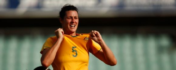 We were playing for the love of the game', Matildas great