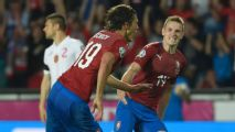 Schick double helps Czechs fight back to beat Bulgaria