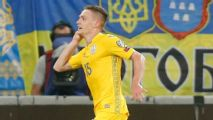 Five-star Ukraine thump Serbia to stay top of Group B